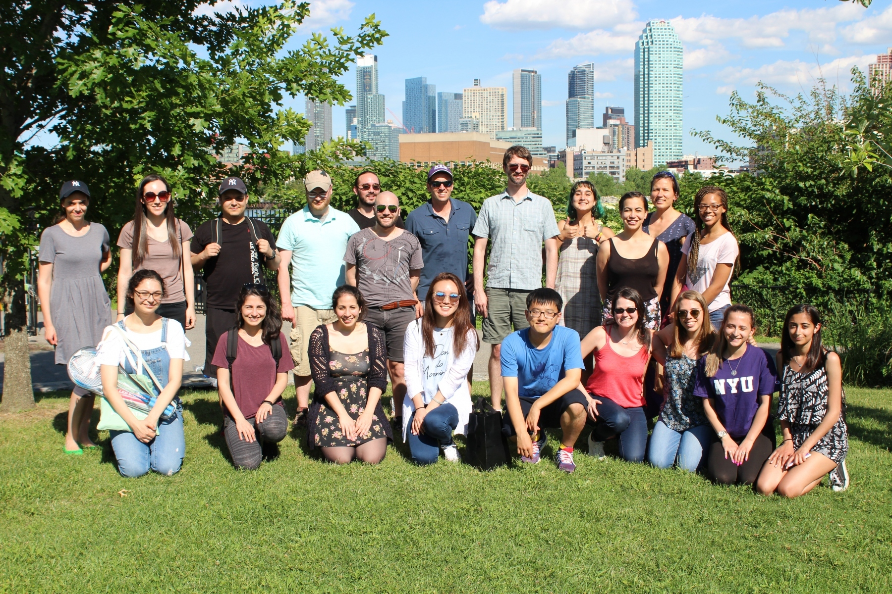 Gresham and Vogel Lab picnic 2018